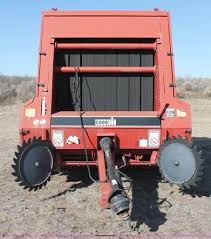 1990 case ih 8460 round baler item c3682 sold january 2