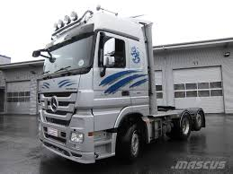 mercedes trucks for sale in usa used mercedes actros 2555ls tractor units year 2014 price