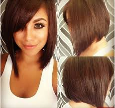 short to medium haircuts for round faces hairstyle picture magz
