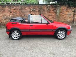 cabriolet peugeot used 1994 peugeot 205 cti cabriolet for sale in surrey pistonheads