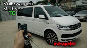 volkswagen multivan 2017 vw multivan t6 2 0tdi review youtube