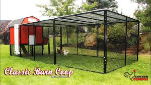 classic barn chicken coop build youtube