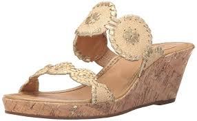 amazon com jack rogers women u0027s shelby cork wedge sandal natural