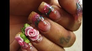 3 d sweet tooth stiletto nail art design tutorial nail degins 3d