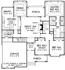French Country Floor Plans Floor Plans Aflfpw27019 1 Story French Country Home With 3
