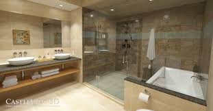 Spa Like Bathroom Accessories - bath architectural renderings from castleview3d com virtual model