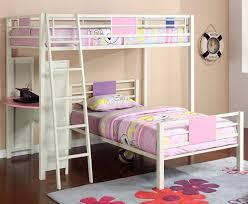 Atlas Bunk Bed Bedroom White Metal Bunk Bed White Metal Bunk Beds Bedrooms