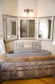 rustic bathroom sinks and vanities captivating rustic corner bathroom vanity ideas ideas house design