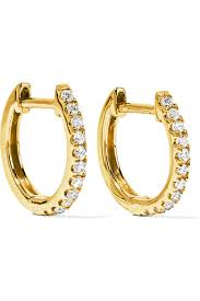 diamond earrings on sale ko huggy 18karat gold diamond earrings women jewelry and