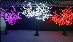 decorative tree lights tree lighting six flags ge ia ers