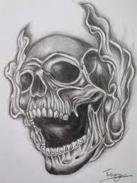 smoke skull by tommyyu on deviantart