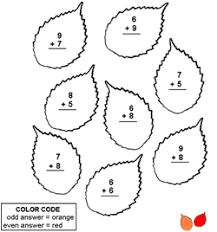 pre math worksheets kids color number