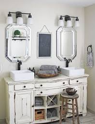 Shabby Chic Bathroom Sink Unit 29 Vintage And Shab Chic Vanities For Your Bathroom Digsdigs