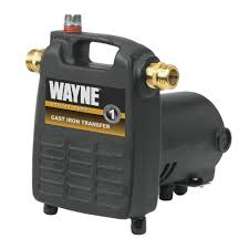 50 psi water pump wayne 1 2 hp cast iron portable transfer utility pump pc4 the