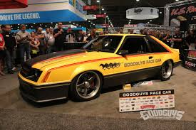 1979 ford mustang pace car goodguys 1979 foxbody mustang pace car unveiled at sema