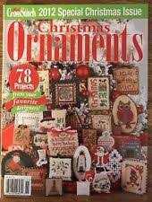 just cross stitch christmas ornaments 2012 special issue 78