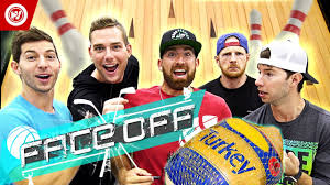 perfect thanksgiving dude perfect thanksgiving turkey bowling face off youtube