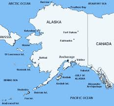 us map of alaska alaska state map map of alaska state united states map including