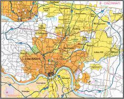 Zip Code Map Louisville Ky by Cincinnati Ohio City Map Cincinnati Ohio U2022 Mappery