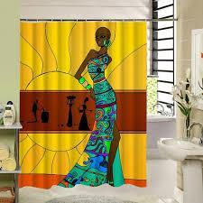 Shower Curtain Custom Custom Melanin Woman Shower Curtain U2013 Melanin Inc