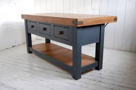 oak kitchen island aged oak topped kitchen island by eastburn country furniture