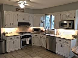 chalk paint on kitchen cabinets review painting kitchen cabinets with chalk paint the homestead