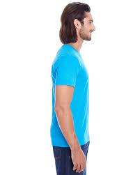 101a threadfast apparel new tee mens slub jersey s s choose color