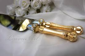 wedding cake cutting set wedding cake cutter gold pics gold wedding cake server set knife