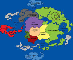 World Map Cartoon by Fullmetal Alchemist Avatar World Map Updated By Altheotaku616 On
