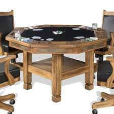 octagonal classic game tables you u0027ll love wayfair