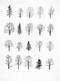 painting trees for a pattern i almost always make up my trees from