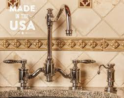 usa made kitchen faucets waterstone faucets international american made kitchen faucets