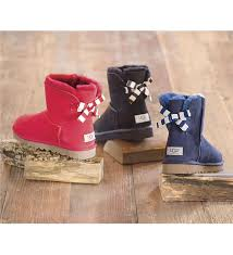 ugg womens boots bailey bow ugg australia s mini bailey bow stripe boot boots