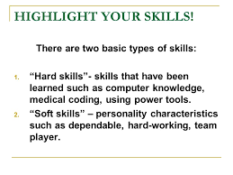 Types Of Skills Resume Resume Writing Workshop Introduction You Only Get One Chance To
