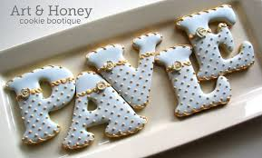 lovely way to decorate letters birthday numbers letters cookies
