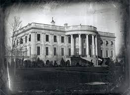 earliest known photograph of white house white house historical