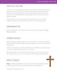 sample thanksgiving prayer lenten morning time plans