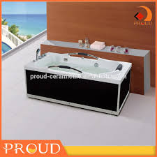 furniture home small square portable acrylic bathtub