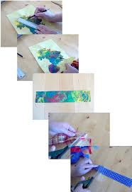 Decorated Paper Things To Make And Do Paper Weaving Bookmark