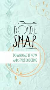 doodlesnap design and edit photos with doodles and sketch