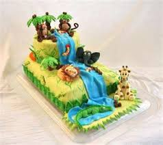 jungle theme cake jungle theme cakes best birthday cakes