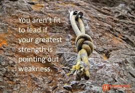 quote mid sentence capitalize you aren u0027t fit to lead if your greatest strength is seeing