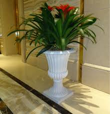 Outdoor Large Vases And Urns Decorative Outdoor Big Plastic Flower Garden Tall Urn Planters Pot