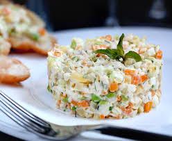 olivier cuisine olivier salad dacha 2 table