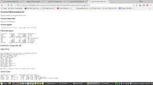 william shotts sysinfo html creator script