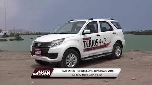 daihatsu terios 4x4 daihatsu terios long up grade 2015 youtube
