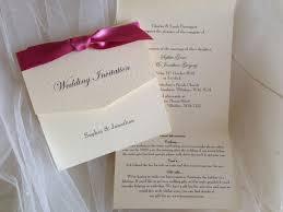 Tri Fold Invitations Tri Fold Wedding Invitations