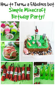 how to throw a simple minecraft birthday party part 2 the