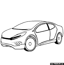 supercars prototype cars coloring pages 2