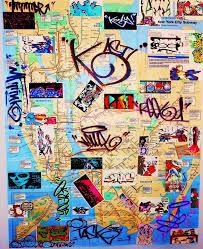 Bronx Subway Map by New York City Graffiti Art Subway Map By Mf Mink On Deviantart
